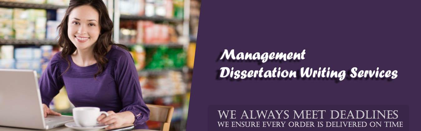 Management Dissertation Writing Service