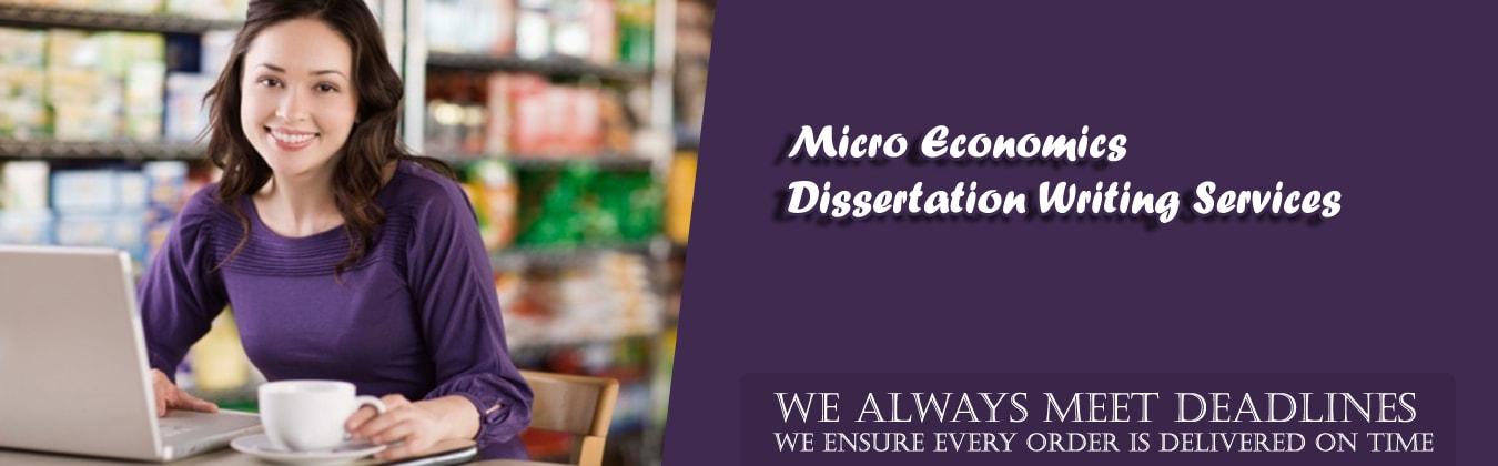 Microeconomics Dissertation Writing Service
