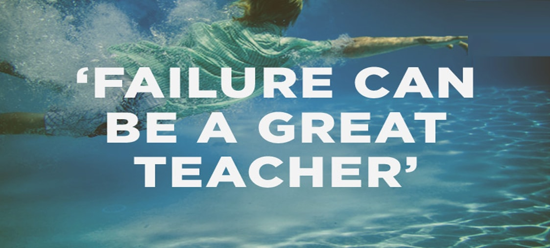 Failure teaches us a new way to success.