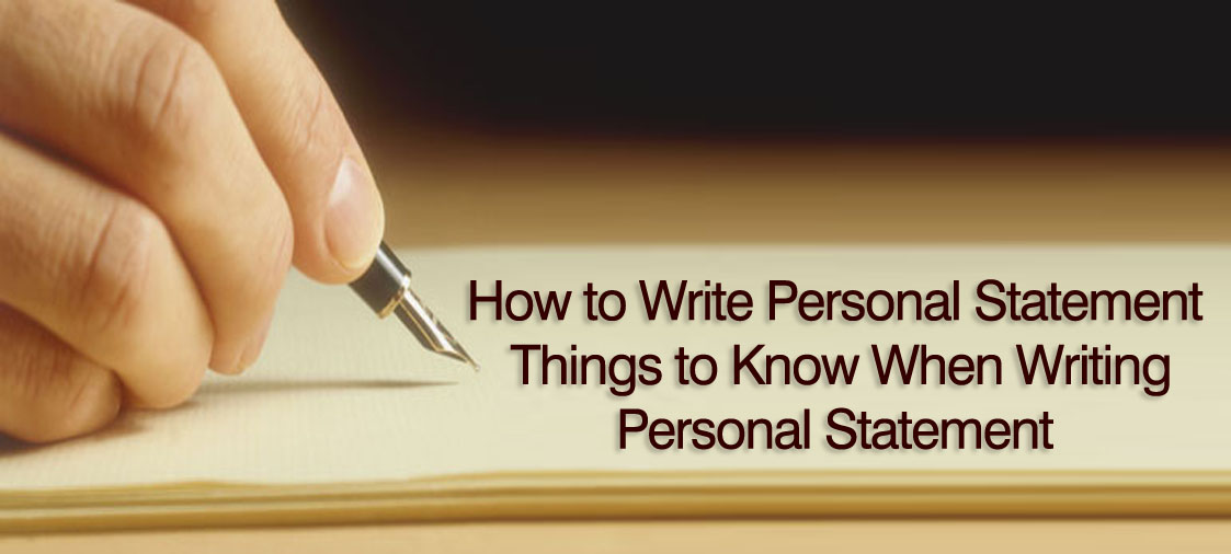 How to Write a Personal Statement? The CAT Formula!