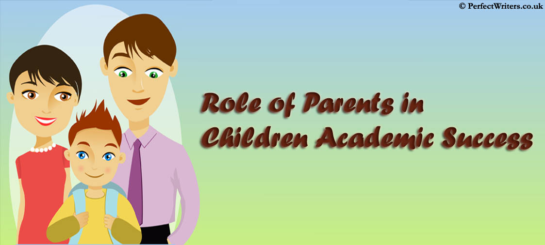 Parents contribute massively in the children academic success