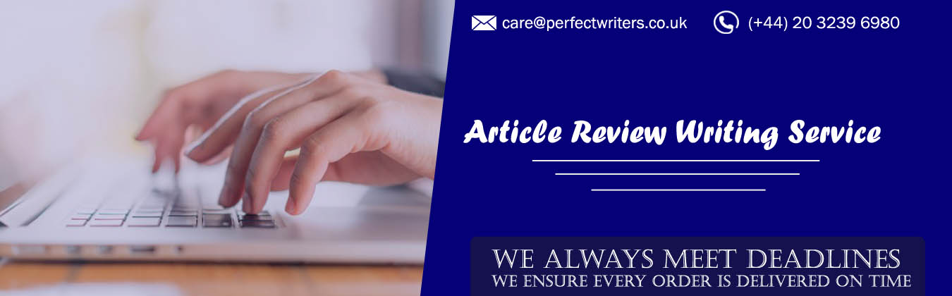 Article Review Writing Service UK