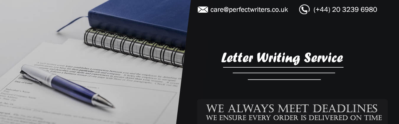 Professional Letter Writing Service & Help UK