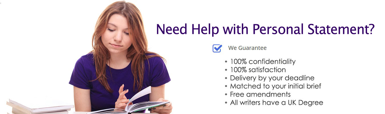 Need Help with Personal Statement?