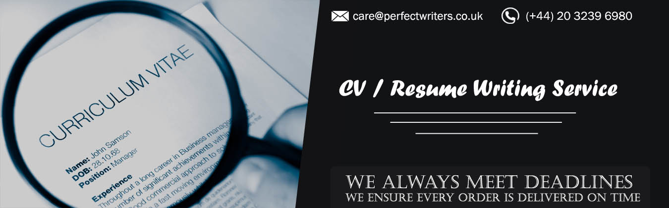 Professional CV / Resume Writing Service UK