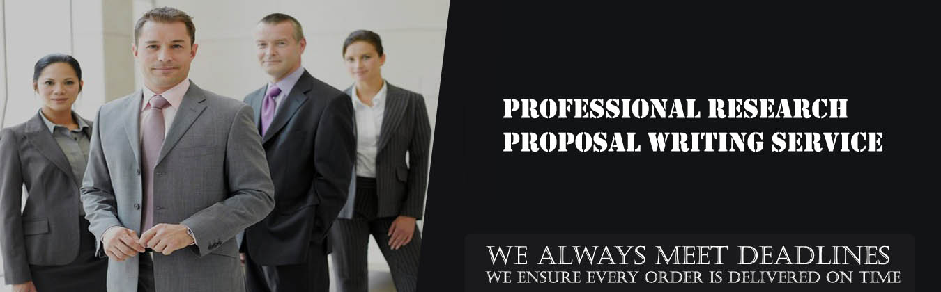 Professional Research  Proposal Writing Service